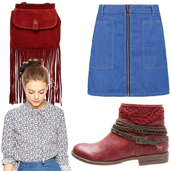 Outfit Una moderna Laura Ingalls