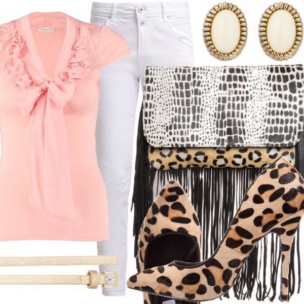 Outfit Frange e Leopardato. It's not too much!