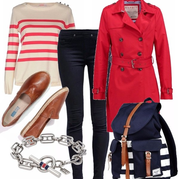 Outfit City marine
