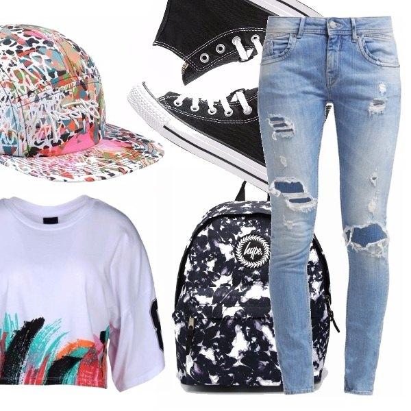 Outfit Skater girl