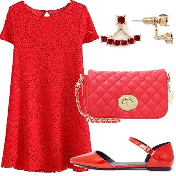 Outfit Semplicemente rosso