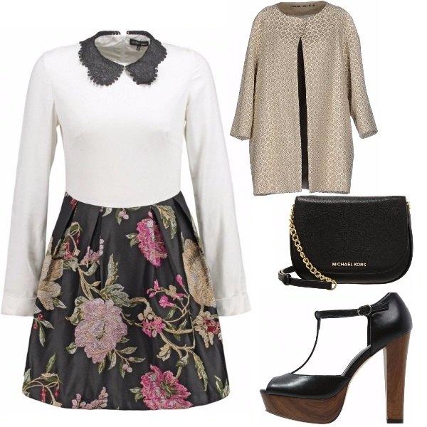 Outfit Come un fiore in un vestito
