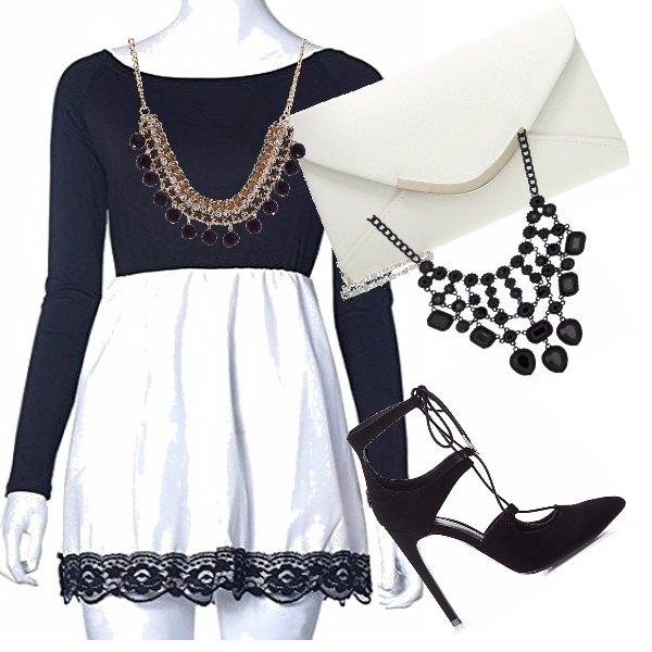 Outfit Black e white