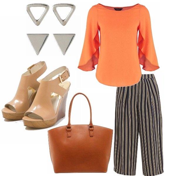 Outfit Arancio che passione