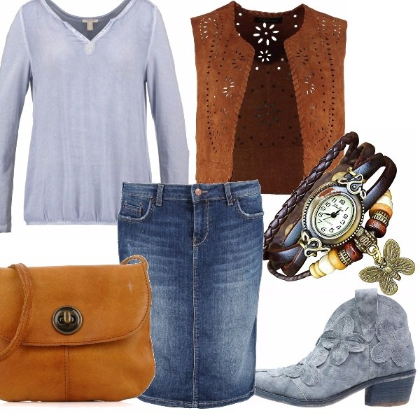 Outfit Uno stile quasi western