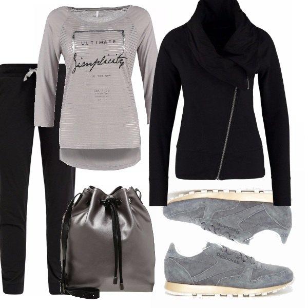 Outfit Un po' sportiva