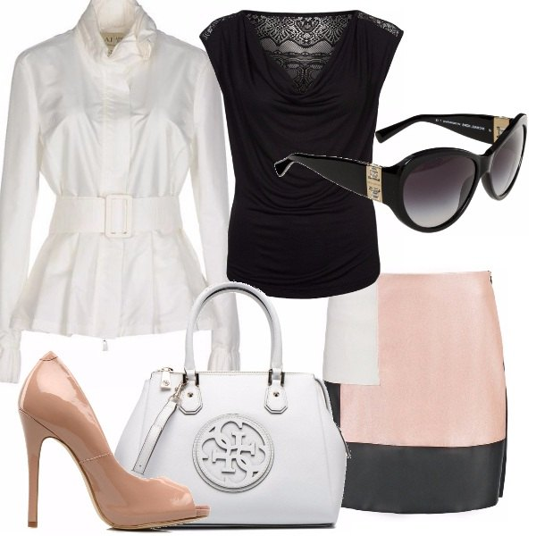 Outfit Chic in tacco 12