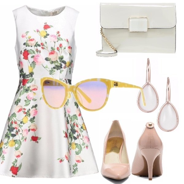 Outfit Abito floral bon ton? oui!