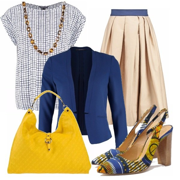 Outfit Ethnic shoes