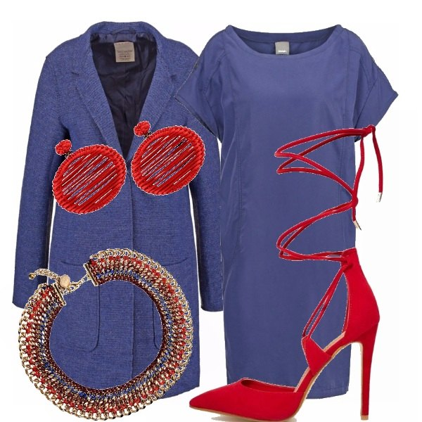 Outfit Color blocking moderato...