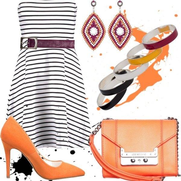 Outfit Stripes&Orange