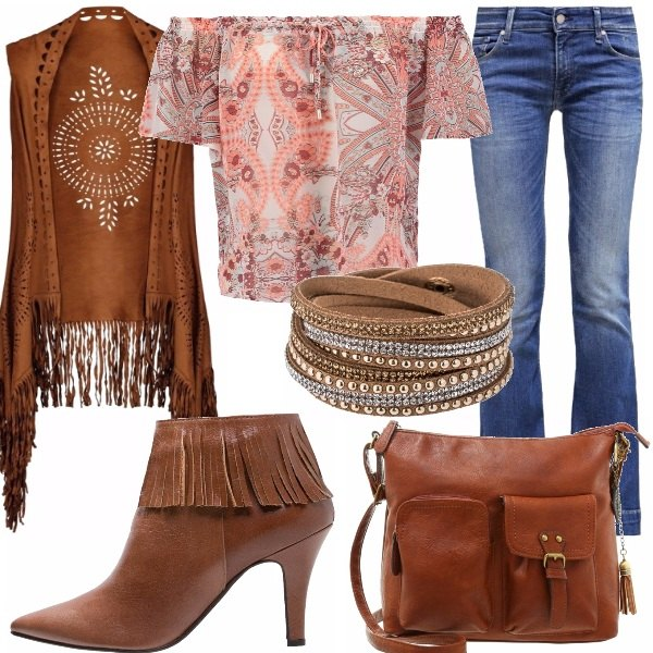 Outfit Boho style!