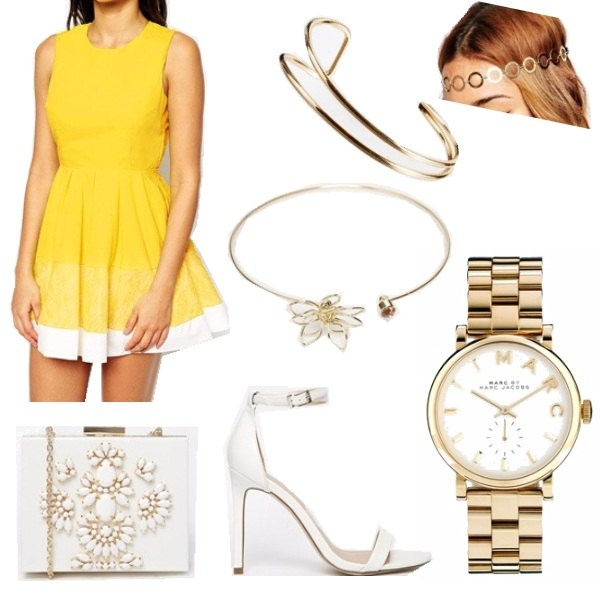 Outfit today it's yellow.
