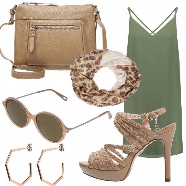 Outfit Look safari!