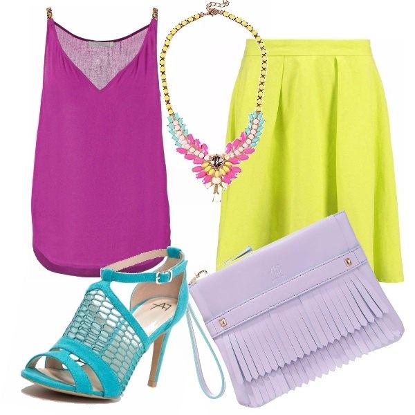 Outfit Let's color block!