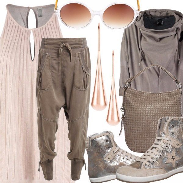 Outfit Neutral Street Style