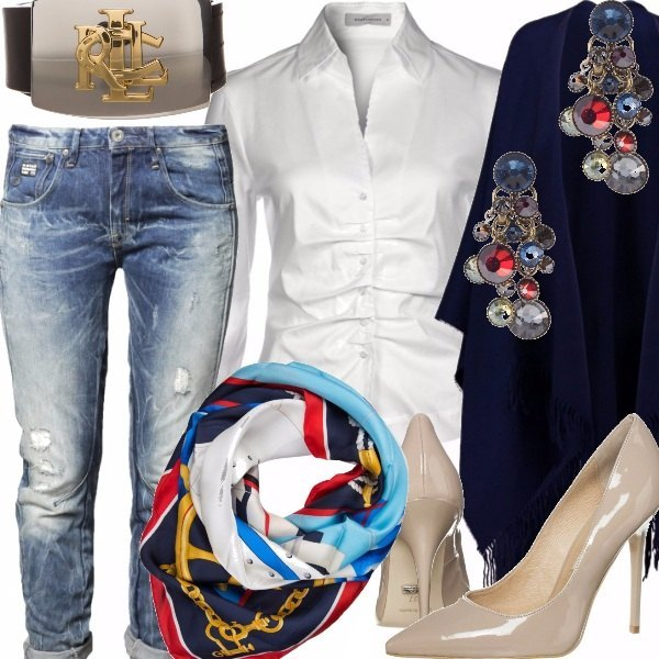 Outfit Luxury Jeans forever