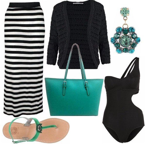 Outfit Touch green