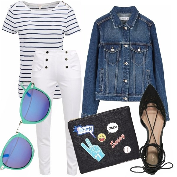 Outfit Sailor & the city