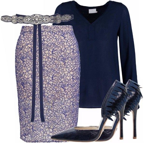 Outfit Con il tuo amato blu sai quanti look!