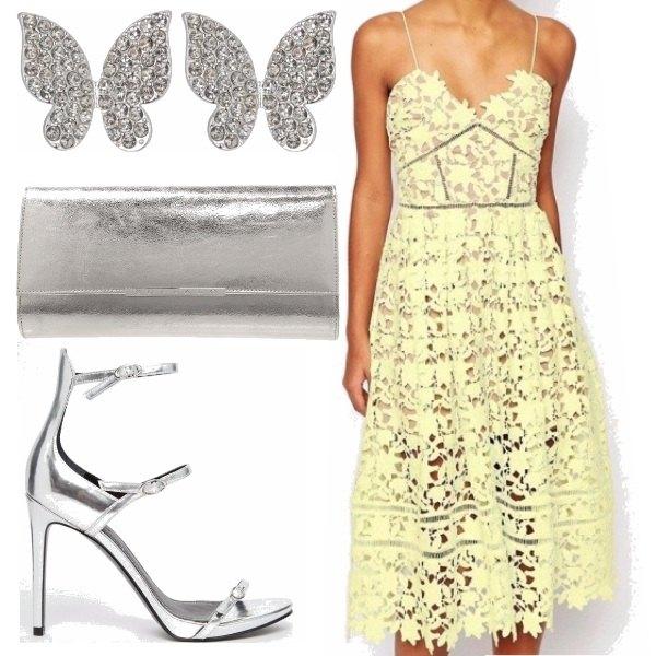 Outfit Giallo tenue