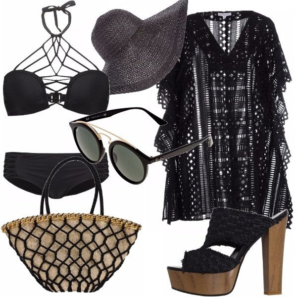Outfit Mar nero