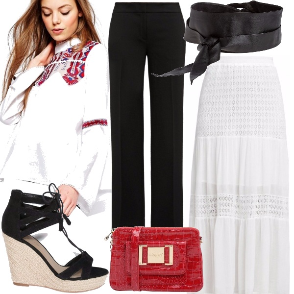 Outfit Folklore dell'est