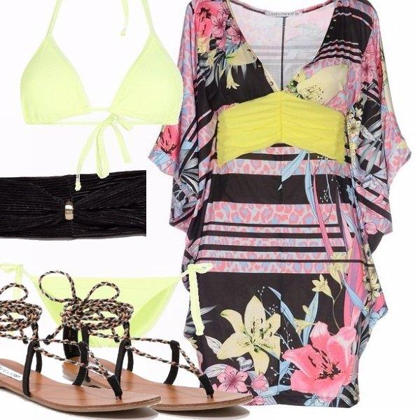Outfit Lady in bikini