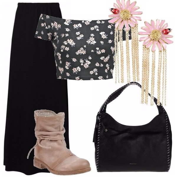 Outfit Gipsy queen - look in low