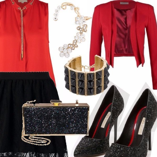 Outfit Red passion