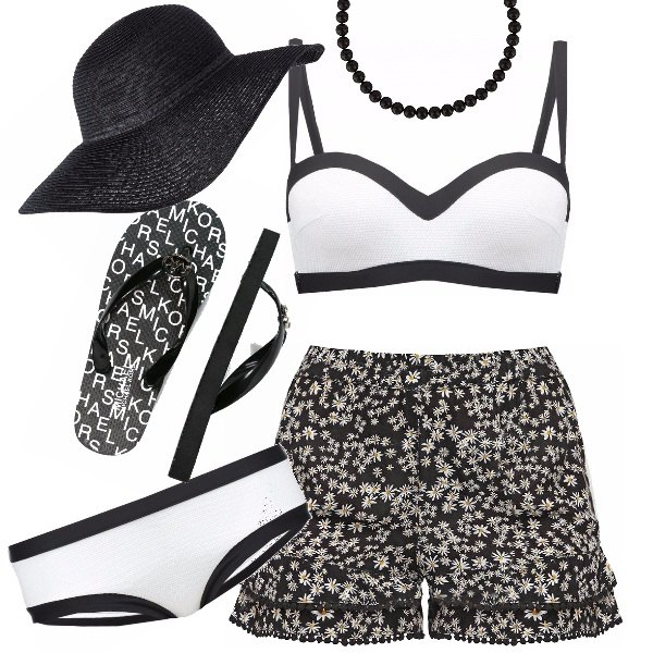Outfit Tocco glamour al mare