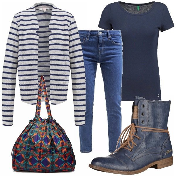 Outfit Blue look