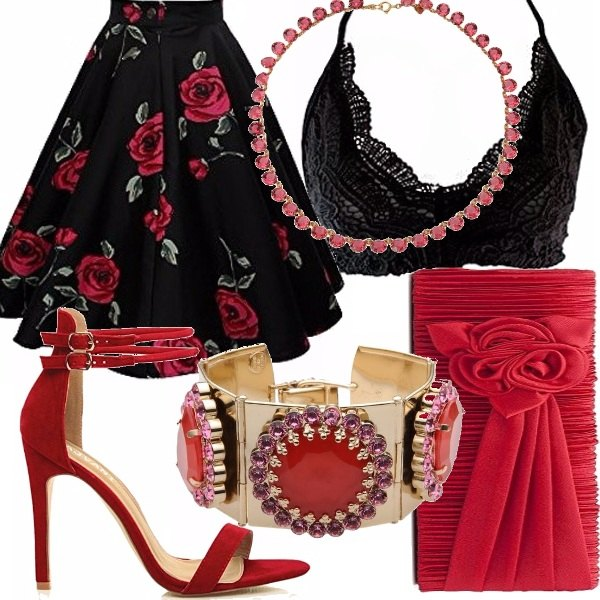 Outfit Rosso passione!