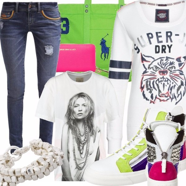 Outfit Casual Street Style