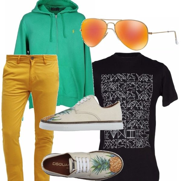 Outfit Colori tropicali