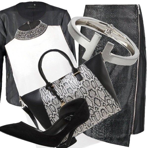 Outfit Tubino e camicia per la sera