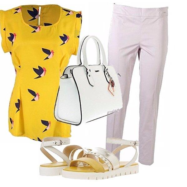 Outfit Colori solari per l'ufficio