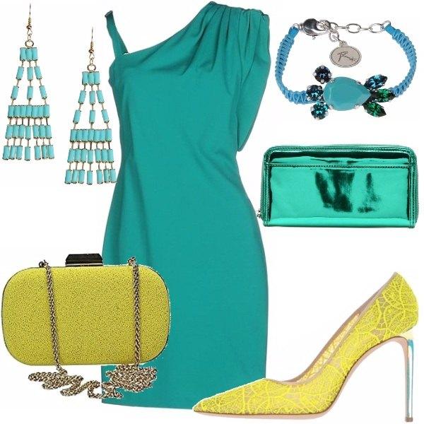 Outfit Preziosa come uno smeraldo