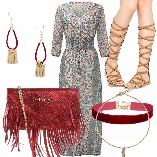 Outfit Eleganza boho chic