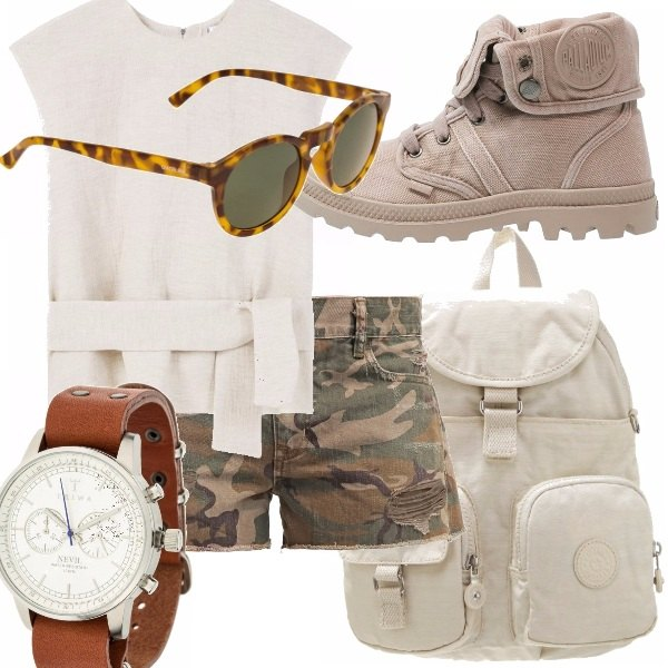 Outfit Camo trendy