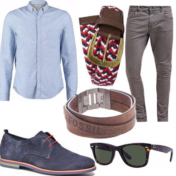 Outfit L'uomo in camicia