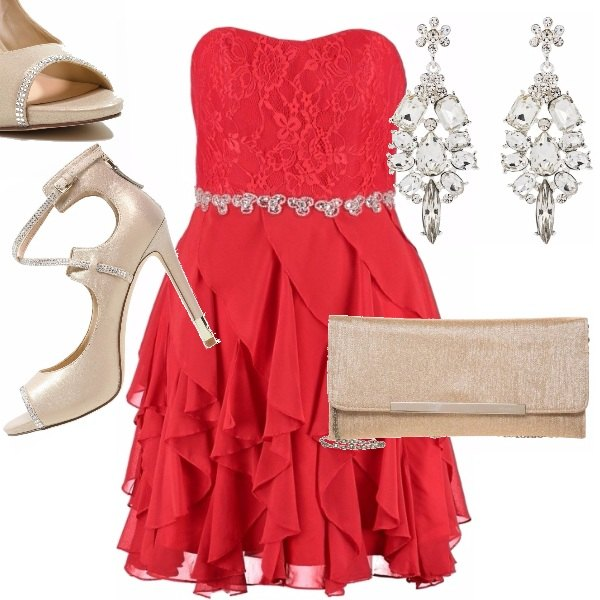 Outfit Un' elegantissima madrina