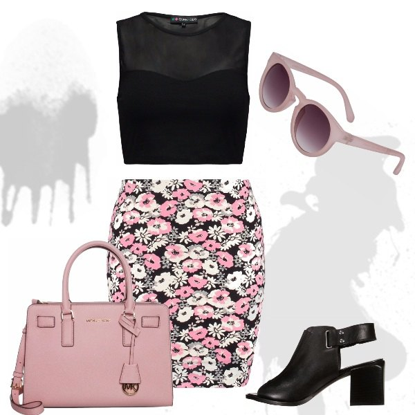 Outfit Flower Chic