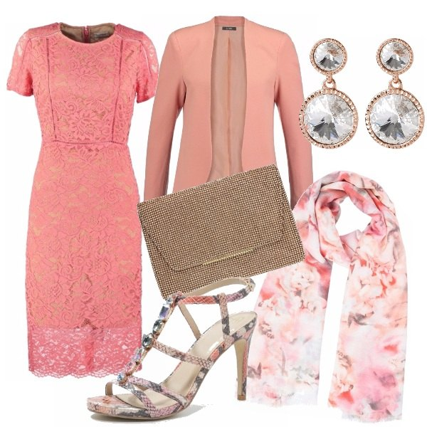 Outfit Peach echo wedding