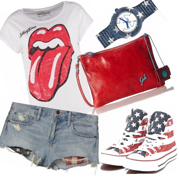 Outfit I love america!!!