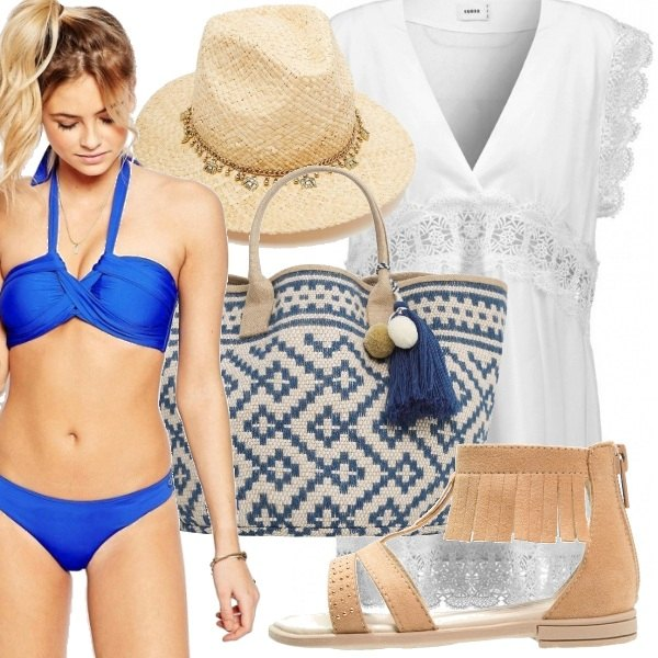 Outfit Must have: snorkel blu
