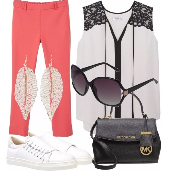 Outfit Pizzo sportivo