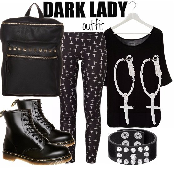 Outfit DARK LADY