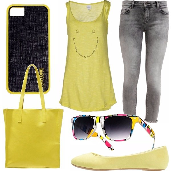 Outfit Yellow smiley