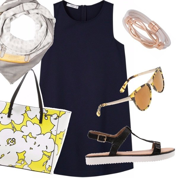 Outfit Navy woman